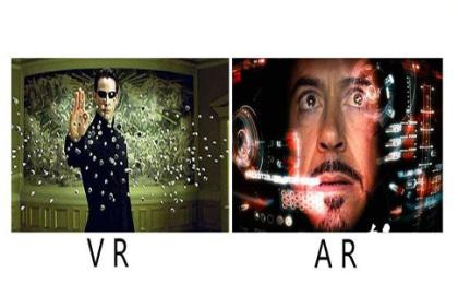 简单聊一聊VR和AR的区别?
